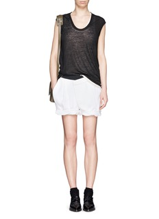 HELMUT LANGOrigami wrap front shorts