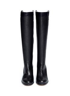 MAISON MARTIN MARGIELABroken heel leather boots