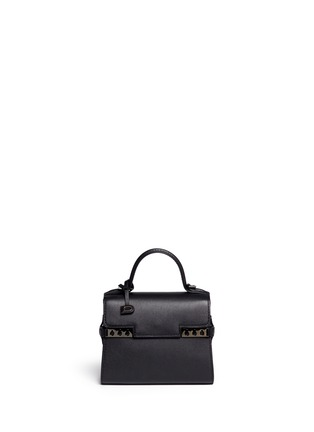 Main View - Click To Enlarge - Delvaux - 'Tempête' micro calf leather bag