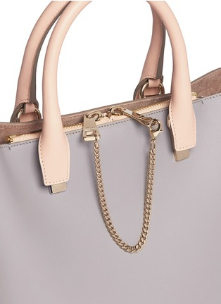 Detail View - Click To Enlarge - Chloé - 'Baylee' small leather tote