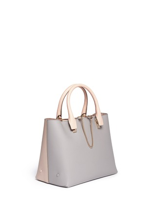 Front View - Click To Enlarge - Chloé - 'Baylee' small leather tote