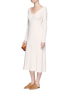 The Row 'Nicola' crepe midi dress