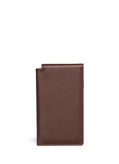 Bynd Artisan Bifold leather travel sleeve
