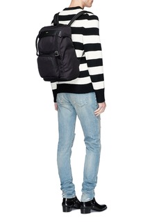 Saint Laurent 'Hunting' canvas backpack