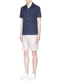 Theory 'Jake WS' reverse sateen shorts
