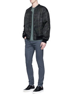 rag & bone 'Fit 2' coated skinny jeans