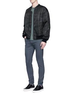 rag & bone'Fit 2' coated skinny jeans