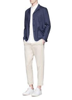 rag & bone'Standard Issue' cotton beach shirt