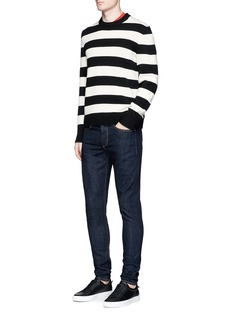 rag & bone 'Standard Issue Fit 1' selvedge denim skinny jeans