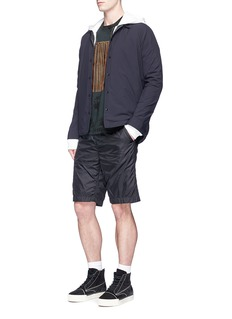 Alexander Wang  Padded nylon shorts
