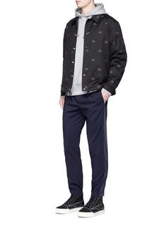 Alexander Wang 'Girls' embroidered coach jacket