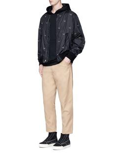 Alexander Wang Cigarette embroidered bomber jacket