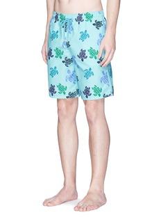 Vilebrequin'Moorea' turtle print swim shorts