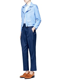 TOGA ARCHIVESBelted wool blend carrot pants