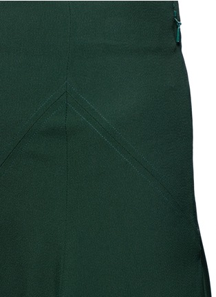 Detail View - Click To Enlarge - Chloé - Curve hem cady skirt