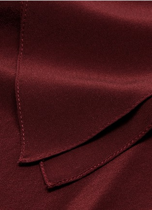Detail View - Click To Enlarge - Chloé - Silk crepe de Chine scarf