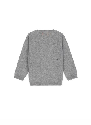 Figure View - Click To Enlarge - Chinti And Parker - x Miffy 'Miffy Face' cashmere kids sweater