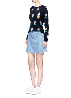 Chinti And Parker x Miffy 'Miffy Daisy' cashmere sweater