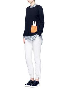 Chinti And Parkerx Miffy 'Miffy Peek Pocket' cashmere sweater
