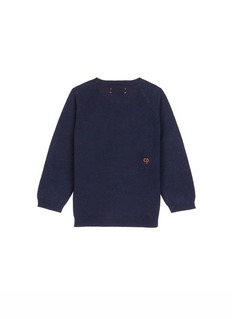 Chinti And Parker x Miffy 'Miffy Face' cashmere kids sweater