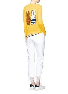 Chinti And Parkerx Miffy 'Miffy Peekaboo' cashmere sweater