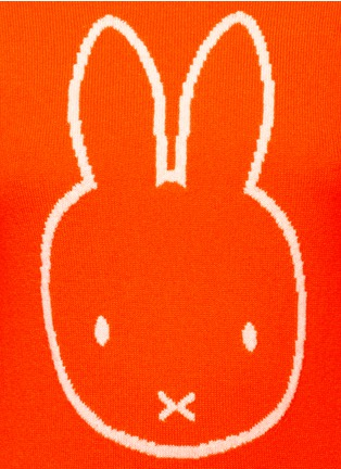 Detail View - Click To Enlarge - Chinti And Parker - x Miffy 'Miffy Face' cashmere sweater