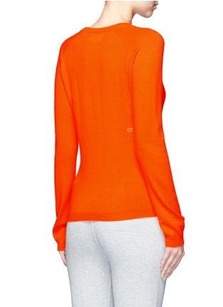 Back View - Click To Enlarge - Chinti And Parker - x Miffy 'Miffy Face' cashmere sweater