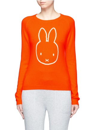 Main View - Click To Enlarge - Chinti And Parker - x Miffy 'Miffy Face' cashmere sweater