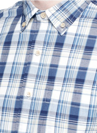 Detail View - Click To Enlarge - Alex Mill - 'Cove' plaid cotton shirt