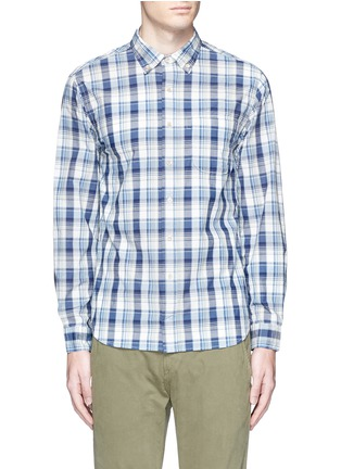 Main View - Click To Enlarge - Alex Mill - 'Cove' plaid cotton shirt