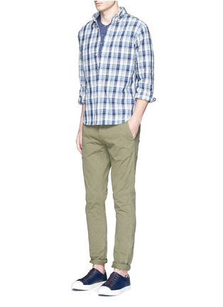 Figure View - Click To Enlarge - Alex Mill - 'Cove' plaid cotton shirt