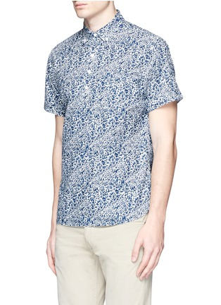 Front View - Click To Enlarge - Alex Mill - 'Floral Reef' print cotton shirt