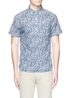 Alex Mill'Floral Reef' print cotton shirt