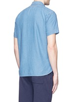 'Dobby Roadhouse' stitch chambray shirt