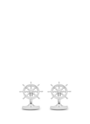 Main View - Click To Enlarge - Deakin & Francis  - Ship steering wheel cufflinks