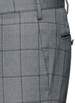 Slim fit Fratelli Tallia di Delfino® windowpane check wool pants