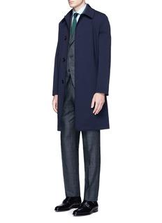 TomorrowlandGlen plaid Ermenegildo Zegna silk suit