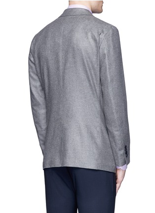Back View - Click To Enlarge - Tomorrowland - Loro Piana Sunset® silk-cashmere soft blazer