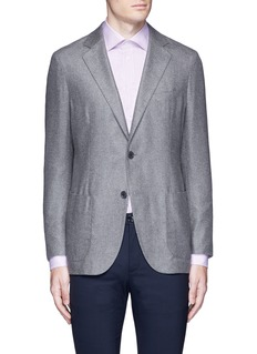 Tomorrowland Loro Piana Sunset® silk-cashmere soft blazer