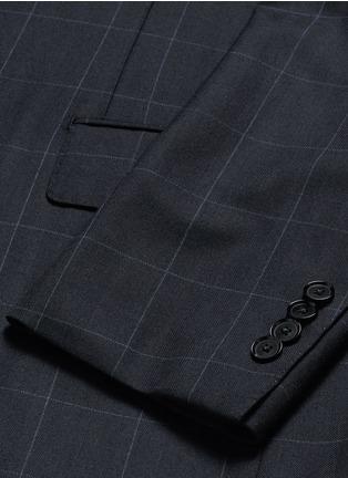 - Tomorrowland - Carlo Barbera® windowpane check wool herringbone suit