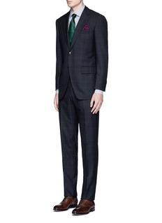 TomorrowlandCarlo Barbera® windowpane check wool herringbone suit