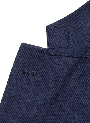 Detail View - Click To Enlarge - Tomorrowland - Zegna® superfine wool blazer
