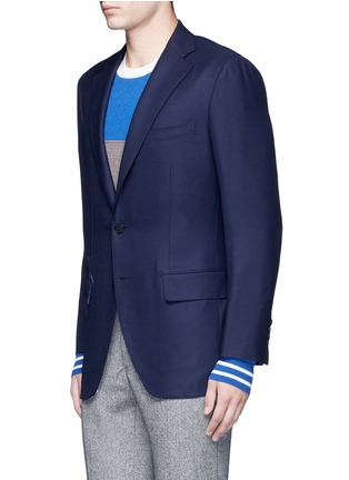 Front View - Click To Enlarge - Tomorrowland - Zegna® superfine wool blazer