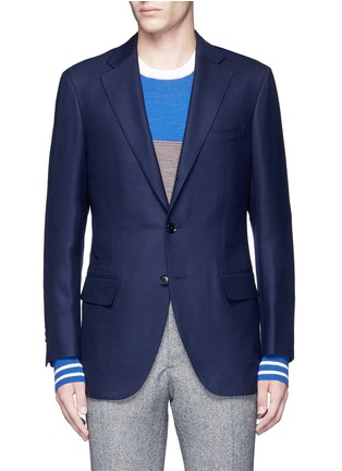 Main View - Click To Enlarge - Tomorrowland - Zegna® superfine wool blazer