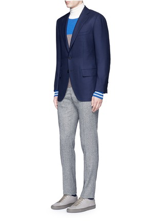 Figure View - Click To Enlarge - Tomorrowland - Zegna® superfine wool blazer