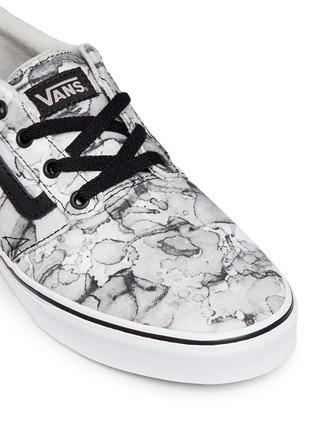 Detail View - Click To Enlarge - Vans - 'Chapman' water mark print sneakers