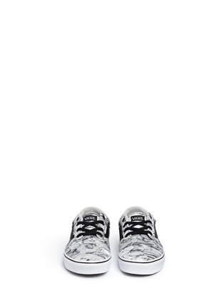 Front View - Click To Enlarge - Vans - 'Chapman' water mark print sneakers