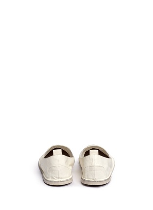Back View - Click To Enlarge - Marsèll - 'Strasacco' toe cap leather slip-ons