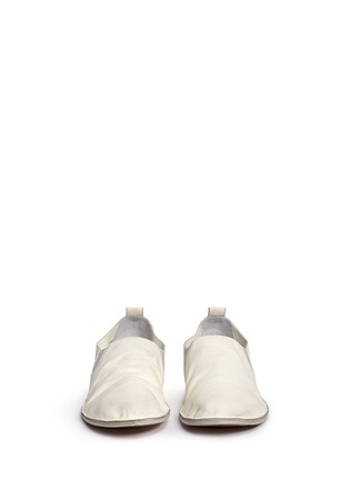 Front View - Click To Enlarge - Marsèll - 'Strasacco' toe cap leather slip-ons