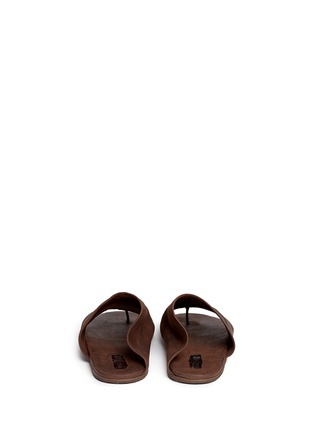 Back View - Click To Enlarge - Marsèll - 'Arsella' leather thong sandals